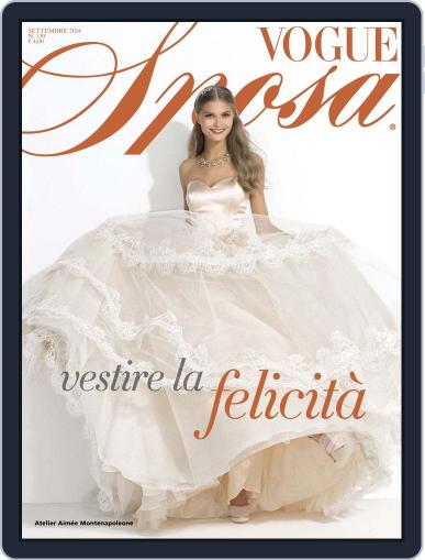 Vogue Sposa September 3rd, 2014 Digital Back Issue Cover