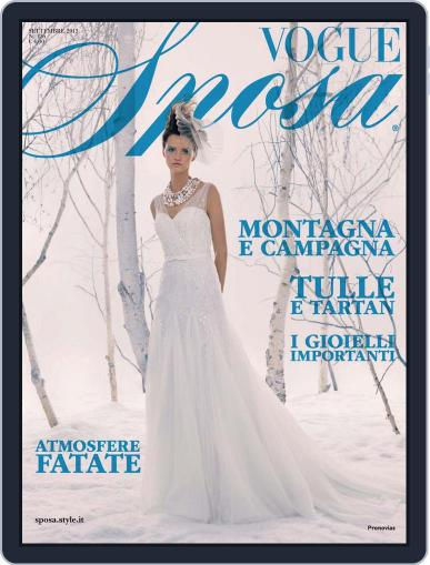 Vogue Sposa September 2nd, 2013 Digital Back Issue Cover