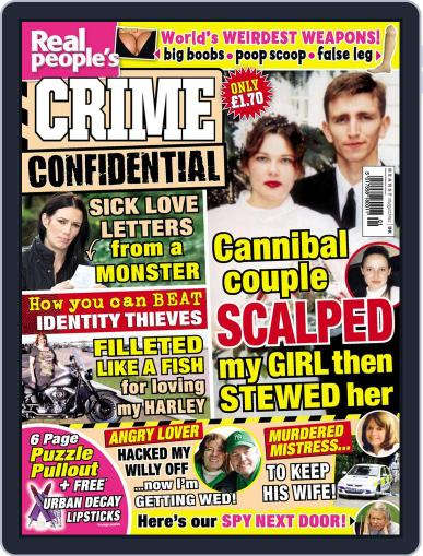 Real People's Crime Confidential Magazine (Digital) December 31st, 2013 Issue Cover