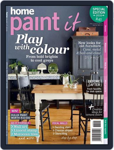 Home Paint It Magazine (Digital) May 1st, 2016 Issue Cover