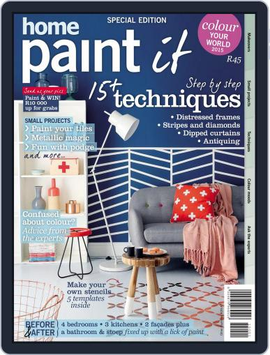 Home Paint It Magazine (Digital) April 24th, 2015 Issue Cover