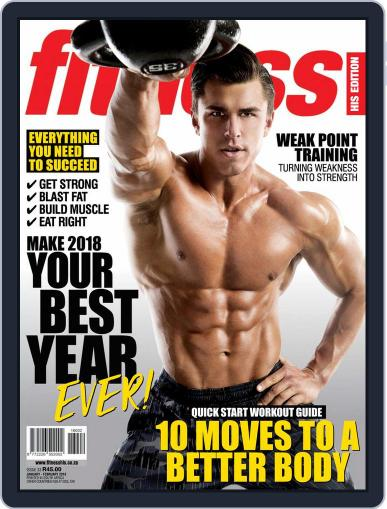Fitness His Edition (Digital) January 1st, 2018 Issue Cover
