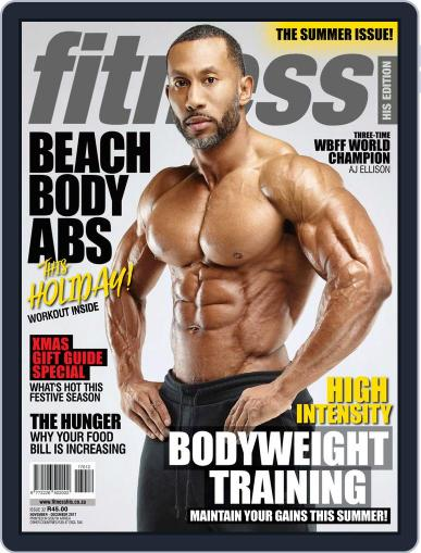 Fitness His Edition (Digital) November 1st, 2017 Issue Cover