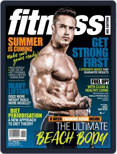 Fitness His Edition (Digital) September 1st, 2017 Issue Cover