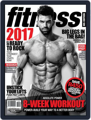Fitness His Edition (Digital) January 1st, 2017 Issue Cover