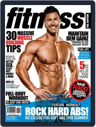 Fitness His Edition (Digital) November 1st, 2016 Issue Cover