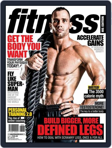 Fitness His Edition (Digital) April 25th, 2016 Issue Cover