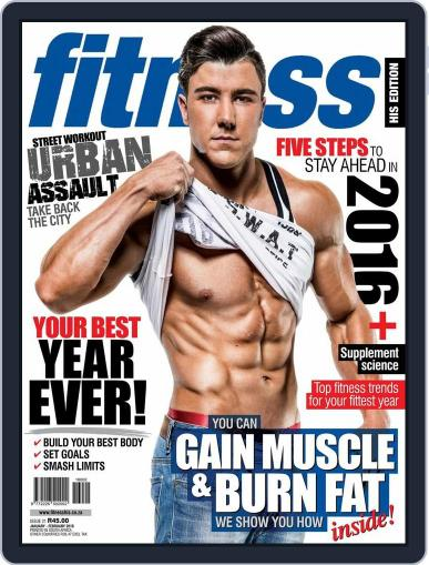 Fitness His Edition December 20th, 2015 Digital Back Issue Cover
