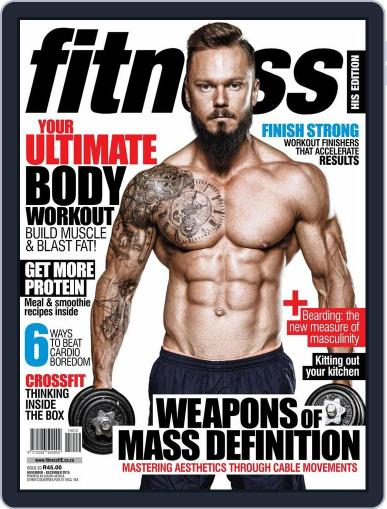 Fitness His Edition (Digital) October 21st, 2015 Issue Cover