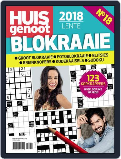 Huisgenoot Blokraai July 18th, 2018 Digital Back Issue Cover