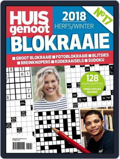 Huisgenoot Blokraai March 14th, 2018 Digital Back Issue Cover
