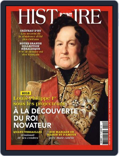 Point de Vue Histoire March 1st, 2018 Digital Back Issue Cover