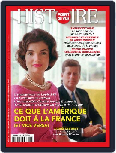 Point de Vue Histoire September 1st, 2016 Digital Back Issue Cover
