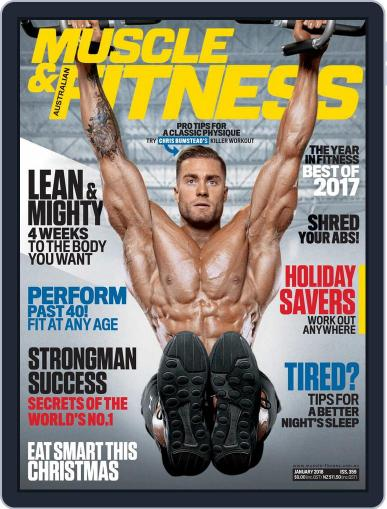 Muscle & Fitness Australia (Digital) January 1st, 2018 Issue Cover