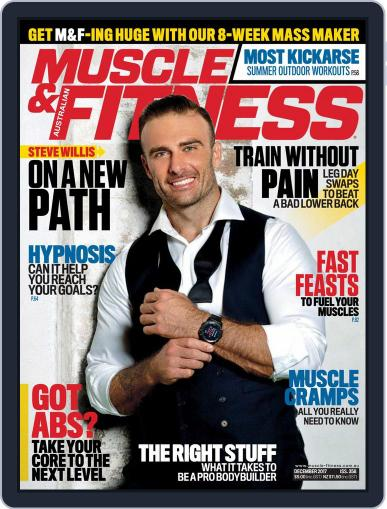 Muscle & Fitness Australia (Digital) December 1st, 2017 Issue Cover