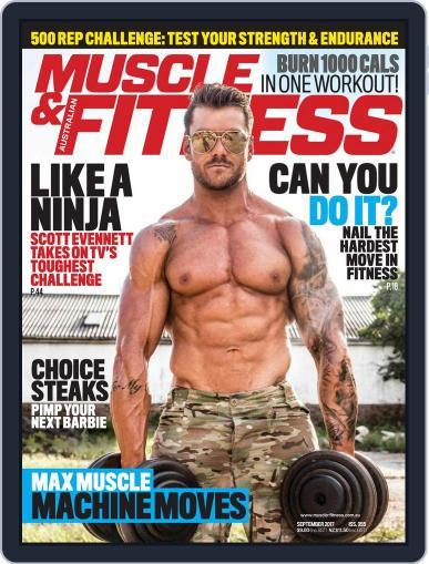 Muscle & Fitness Australia (Digital) September 1st, 2017 Issue Cover