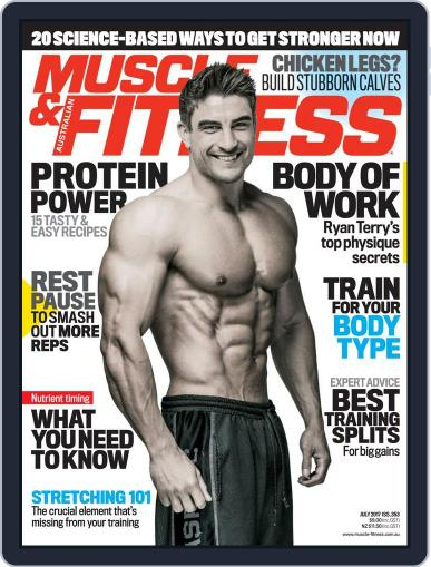 Muscle & Fitness Australia (Digital) July 1st, 2017 Issue Cover