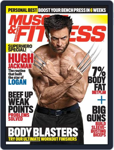 Muscle & Fitness Australia (Digital) March 1st, 2017 Issue Cover