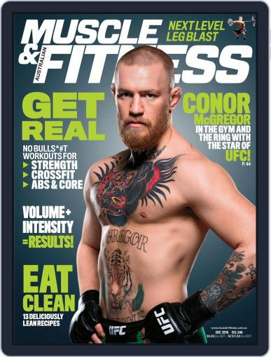 Muscle & Fitness Australia (Digital) December 1st, 2016 Issue Cover