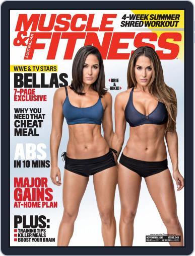 Muscle & Fitness Australia (Digital) November 1st, 2016 Issue Cover