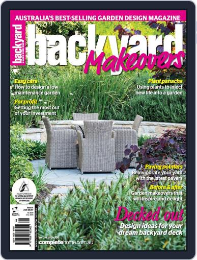 Backyard Makeovers June 18th, 2014 Digital Back Issue Cover