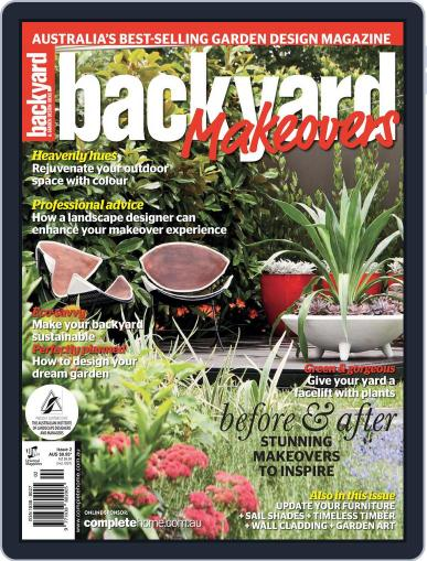 Backyard Makeovers June 25th, 2012 Digital Back Issue Cover