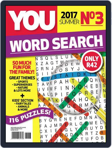 YOU Word Search Magazine (Digital) January 1st, 2017 Issue Cover