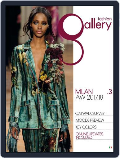 FASHION GALLERY MILAN (Digital) October 1st, 2017 Issue Cover