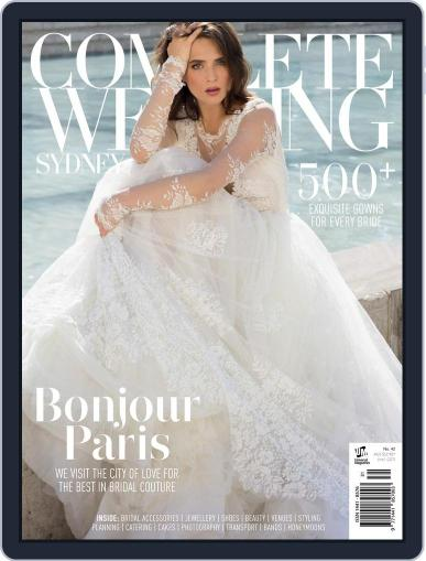 Complete Wedding Sydney Magazine (Digital) February 15th, 2017 Issue Cover