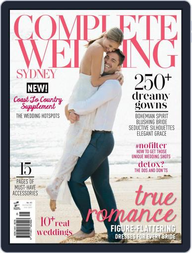Complete Wedding Sydney February 1st, 2016 Digital Back Issue Cover