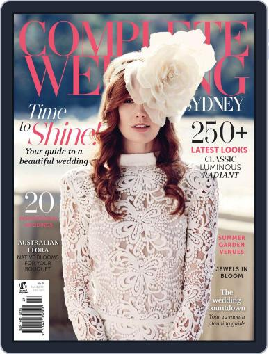 Complete Wedding Sydney Magazine (Digital) November 26th, 2014 Issue Cover