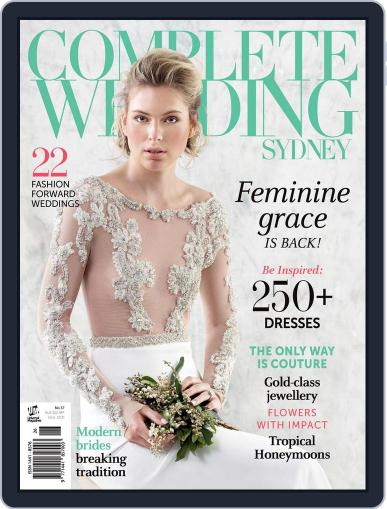 Complete Wedding Sydney Magazine (Digital) June 11th, 2014 Issue Cover