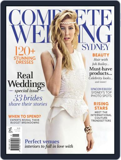 Complete Wedding Sydney Magazine (Digital) December 3rd, 2013 Issue Cover