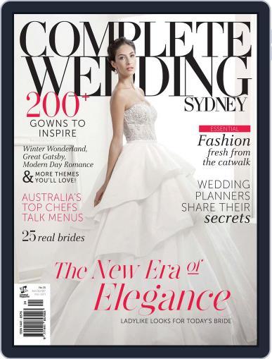 Complete Wedding Sydney Magazine (Digital) July 30th, 2013 Issue Cover
