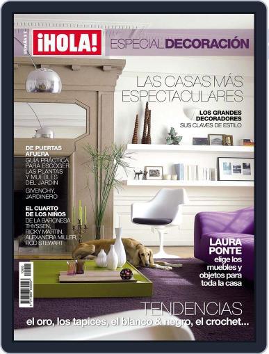 ¡hola! Especial Decoración (Digital) March 4th, 2010 Issue Cover