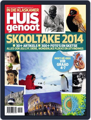 Huisgenoot Skooltake Magazine (Digital) April 1st, 2014 Issue Cover