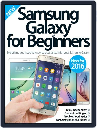 Samsung Galaxy For Beginners Magazine (Digital) March 1st, 2016 Issue Cover