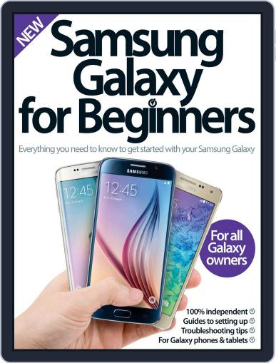 Samsung Galaxy For Beginners Magazine (Digital) August 5th, 2015 Issue Cover