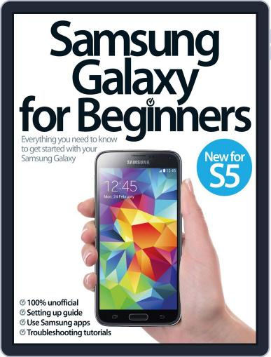Samsung Galaxy For Beginners Magazine (Digital) April 16th, 2014 Issue Cover