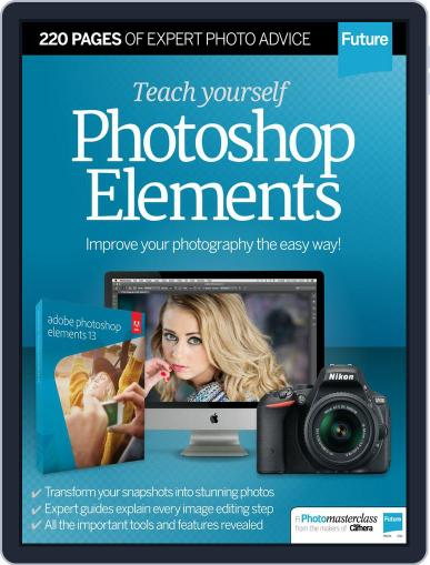 Teach Yourself Photoshop Elements Magazine (Digital) June 22nd, 2015 Issue Cover