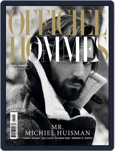 L'officiel Hommes Nl (Digital) October 7th, 2014 Issue Cover