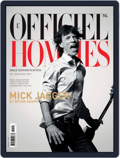 L'officiel Hommes Nl October 2nd, 2012 Digital Back Issue Cover