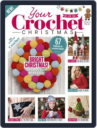 Your Crochet Christmas October 1st, 2016 Digital Back Issue Cover