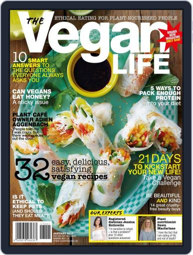 The Vegan Life Magazine (Digital) January 1st, 2017 Issue Cover