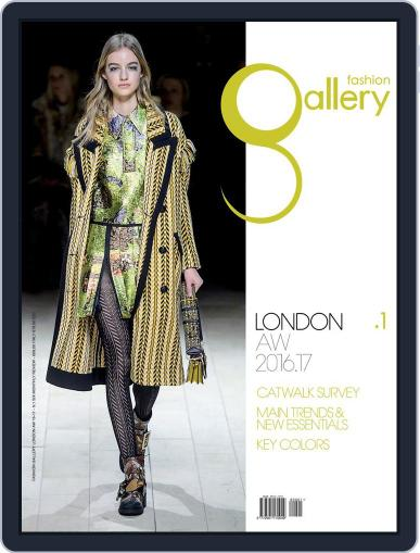 FASHION GALLERY LONDON (Digital) August 31st, 2016 Issue Cover