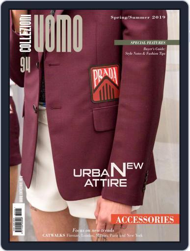 Collezioni Uomo (Digital) August 27th, 2018 Issue Cover