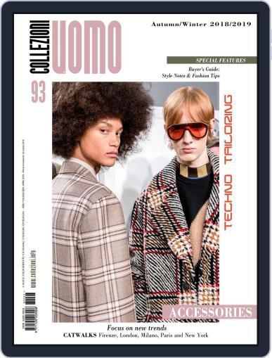 Collezioni Uomo (Digital) March 16th, 2018 Issue Cover