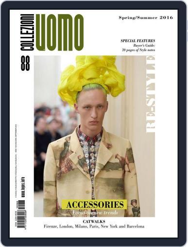 Collezioni Uomo (Digital) September 1st, 2015 Issue Cover