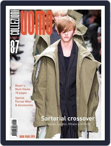 Collezioni Uomo (Digital) March 13th, 2015 Issue Cover