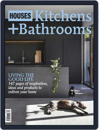 Houses: Kitchens + Bathrooms June 4th, 2015 Digital Back Issue Cover